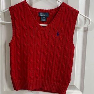 Polo by Ralph Lauren vest toddler